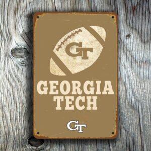 Georgia Tech Signs Vintage style