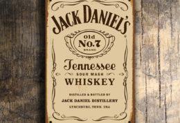 JACK DANIELS SIGN Vintage style