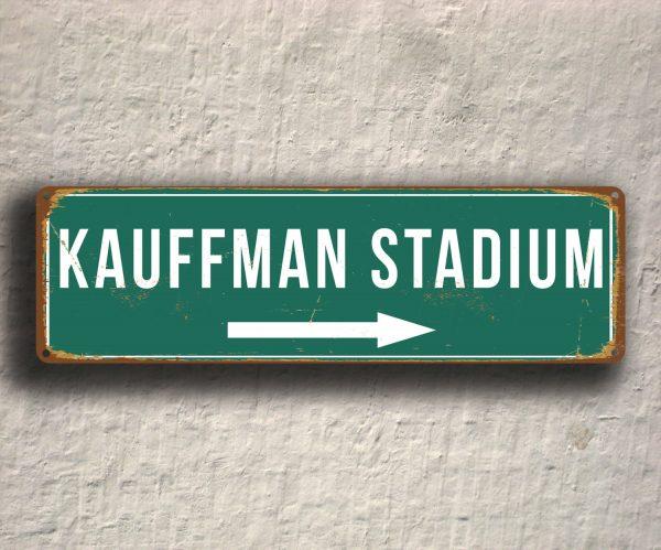 KAUFFMAN STADIUM SIGN