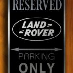 Land Rover Sign