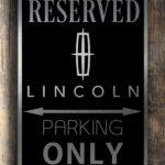 Lincoln Garage Sign