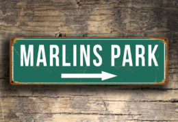 MARLINS PARK SIGN
