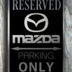 Mazda Garage Sign