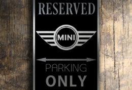 Mini Cooper Signs