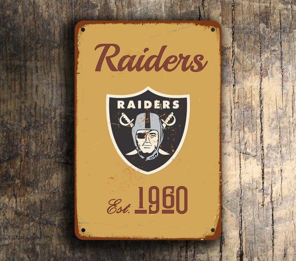 Oakland Raiders Logo Sign