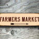 Outdoor Farmers Market Sign