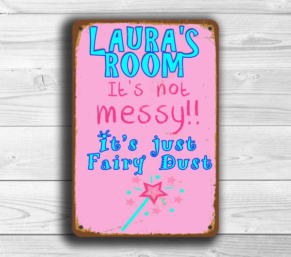 PERSONALIZED GIRLS ROOM Sign
