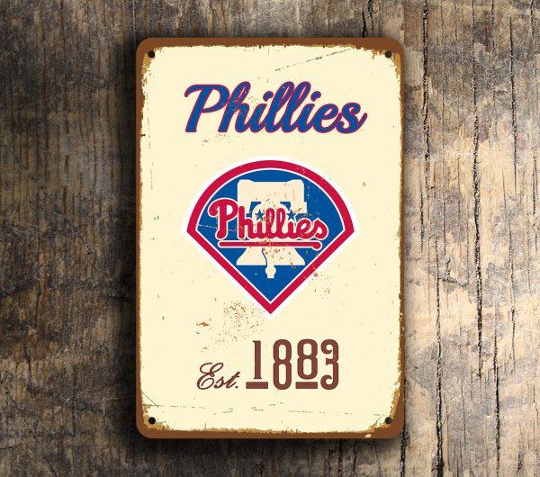 PHILADELPHIA PHILLIES Sign
