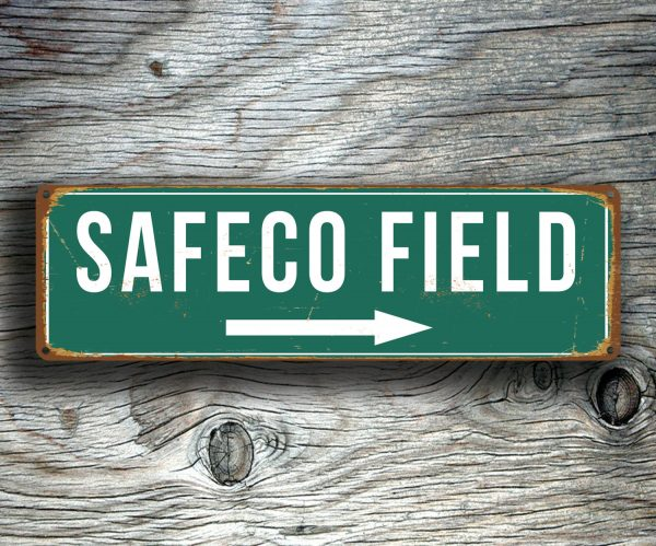 SAFECO FIELD SIGN