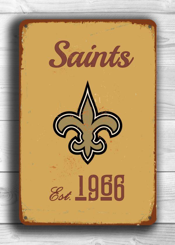 New Orleans Saints Wall Decor