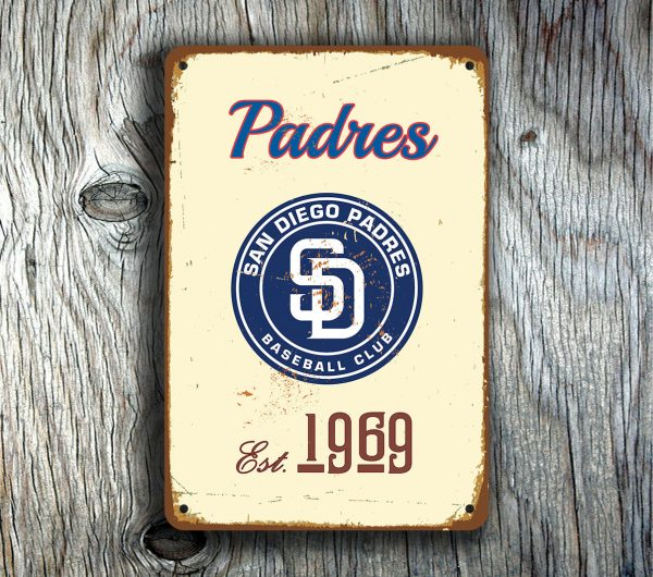 SAN DIEGO PADRES Sign