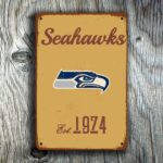 Seattle Seahawks Logo Sign