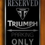 Triumph Sign