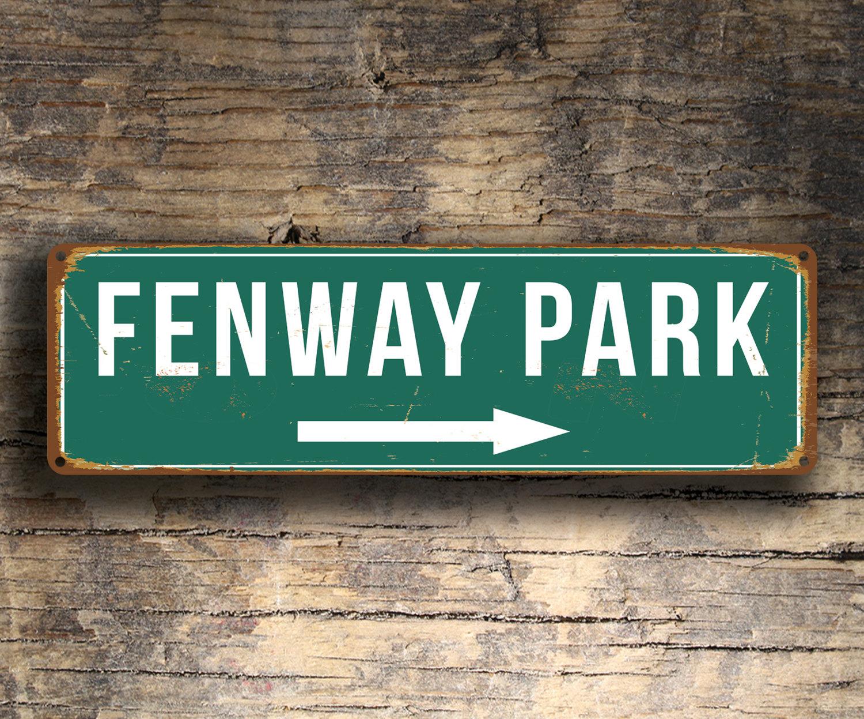 Vintage style Fenway Park Sign