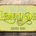 Vintage style Lemonade Sign