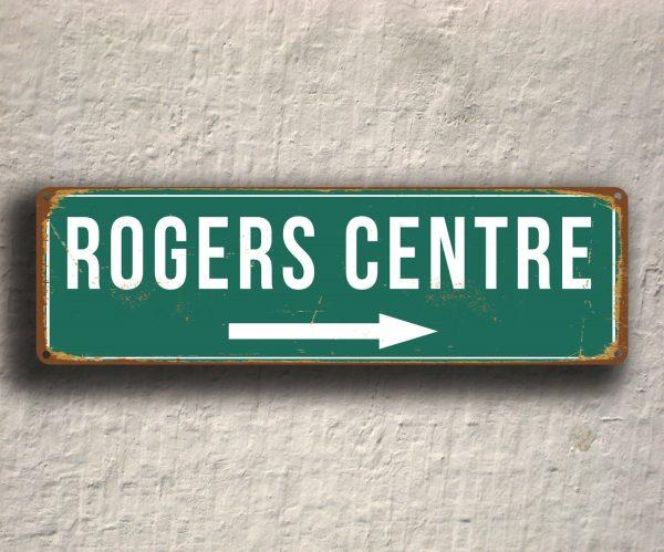 Vintage style Rogers Centre Stadium Sign