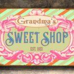 Vintage style Sweet Shop Sign