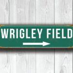 Vintage style Wirgley Field Sign