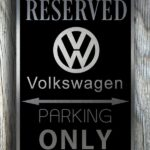 VolksWagen Garage Sign