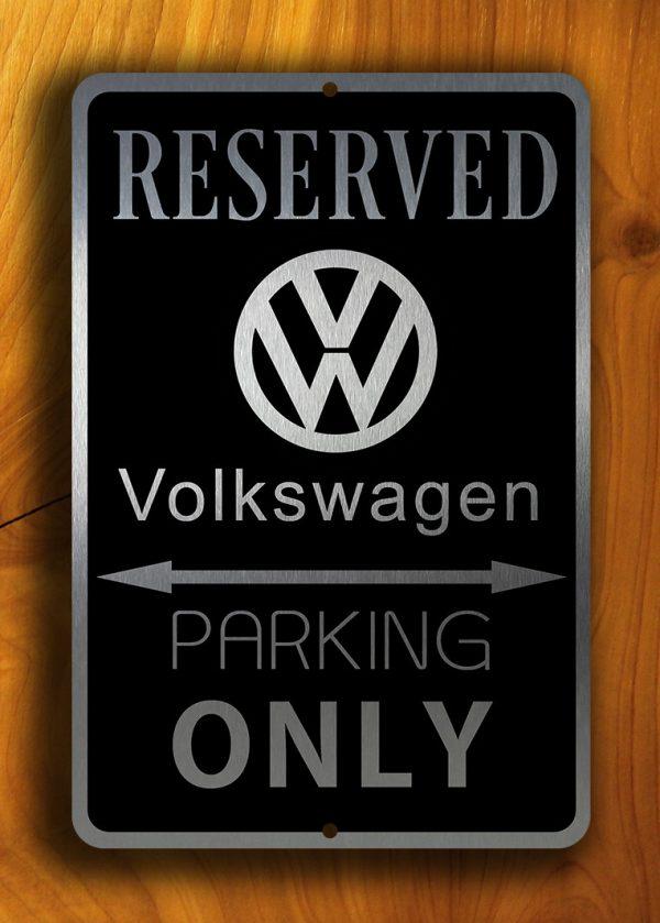 Volkswagen Parking Only