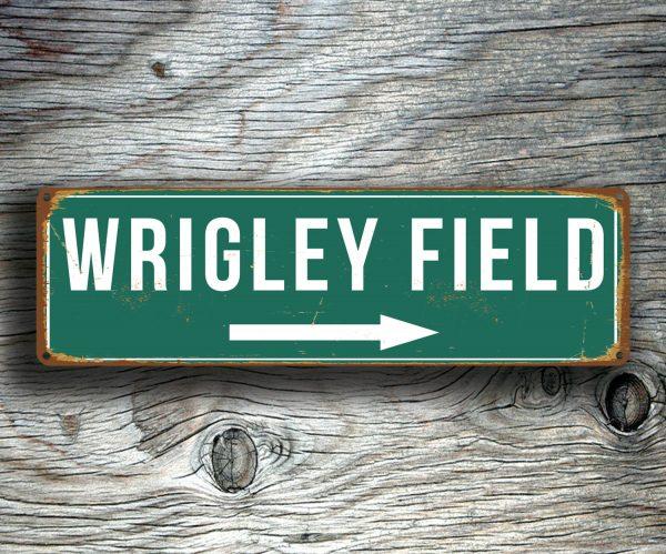 WRIGLEY FIELD SIGN