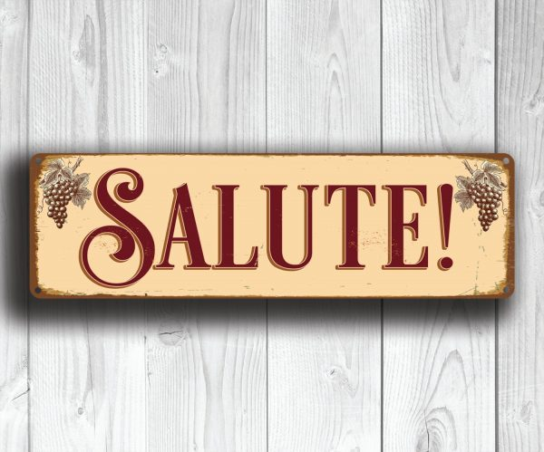 SALUTE SIGN