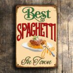 Vintage Style Spaghetti Sign