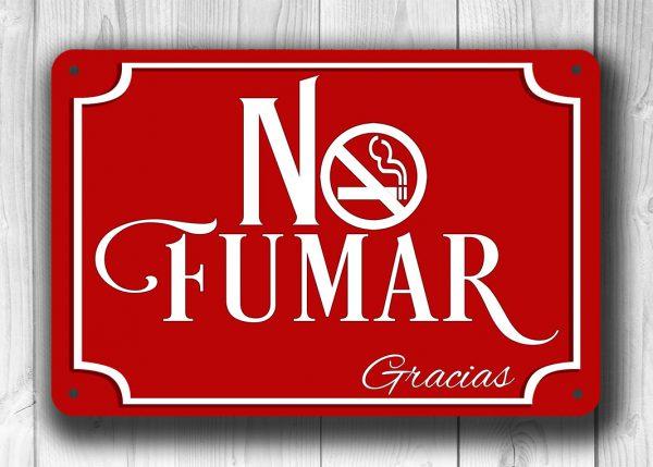 NO FUMAR SIGN