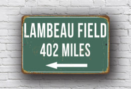 Personalized Distance Signs