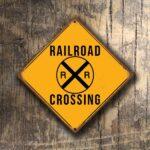 Railroad Crossing sign 1