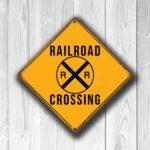 Railroad Crossing sign 4