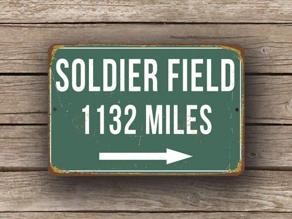 Soldier Field Street Sign