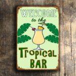 Tropical Bar Sign