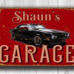 Chevy Camaro Garage Sign 3