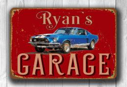 Custom Garage Signs