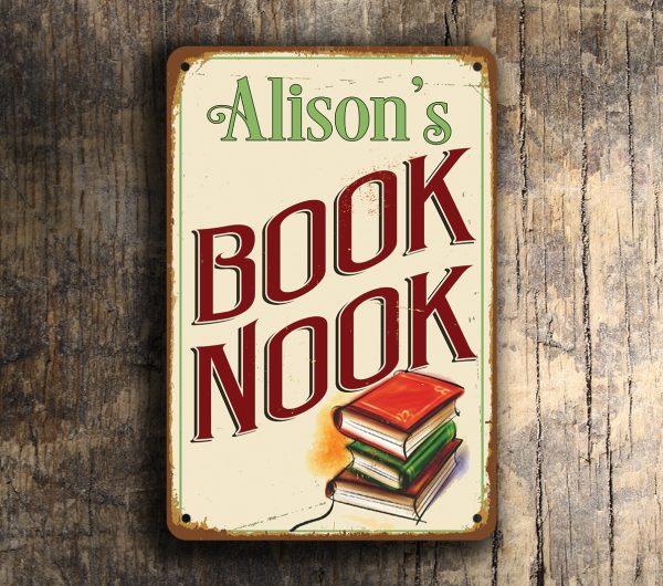 Book Nook Sign