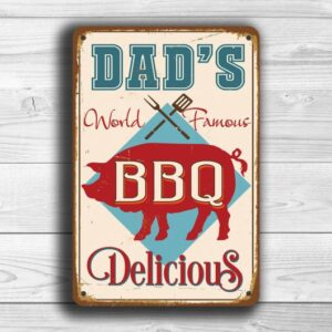 Dads BBQ Sign