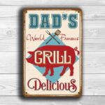 Dads Grill Sign