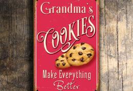 Grandmas Cookies Sign