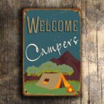 Welcome Campers Sign 2