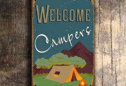 Camping Signs