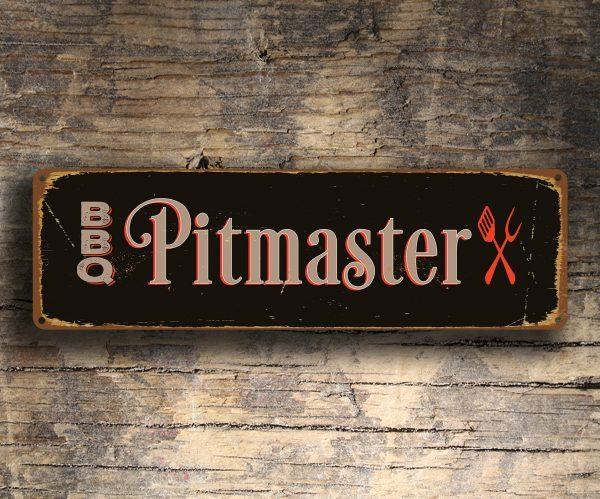 BBQ Pitmaster Sign