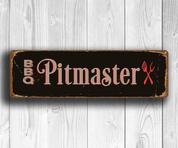 Pitmaster BBQ Sign