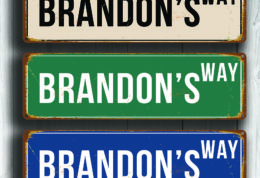 Your Name Street Signs