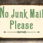 NO Junk Mail – Green