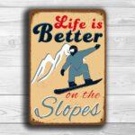Snowboarding Sign 1