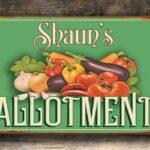 Allotment Sign 1