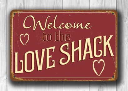 bedroom signs. Love Shack Sign 2  Bedroom Signs Classic Metal