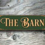 The Barn Sign sign 2