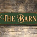 The Barn Sign sign 5